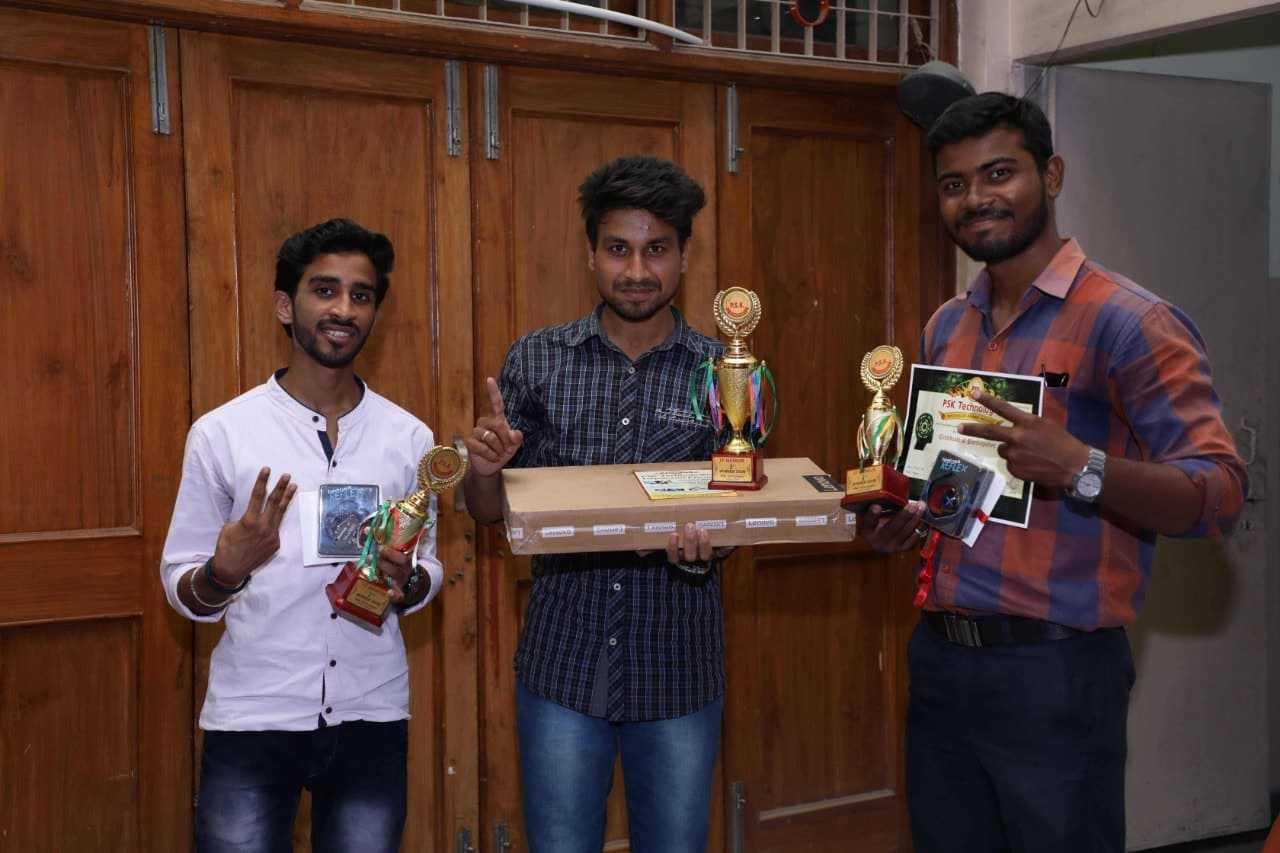 top 3 winners in psk technologies nagpur