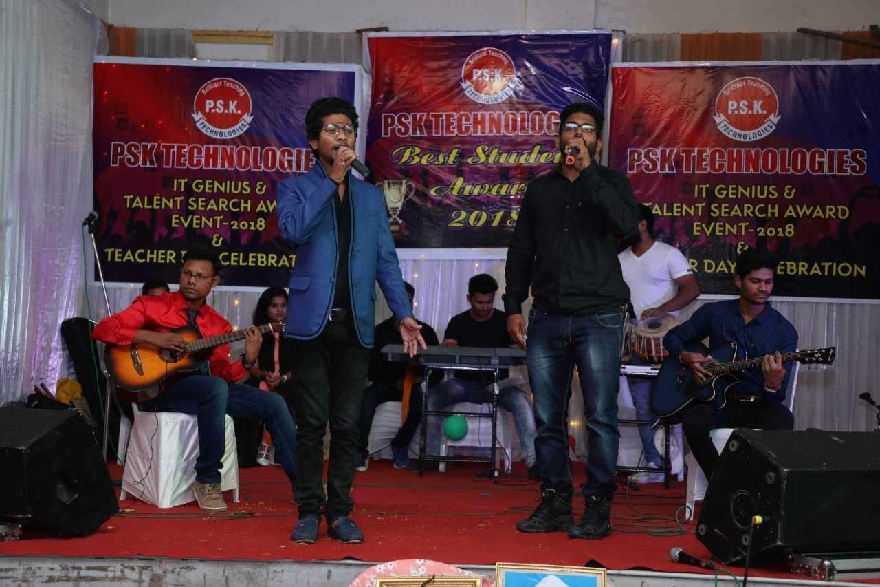 singing in psk technologies nagpur