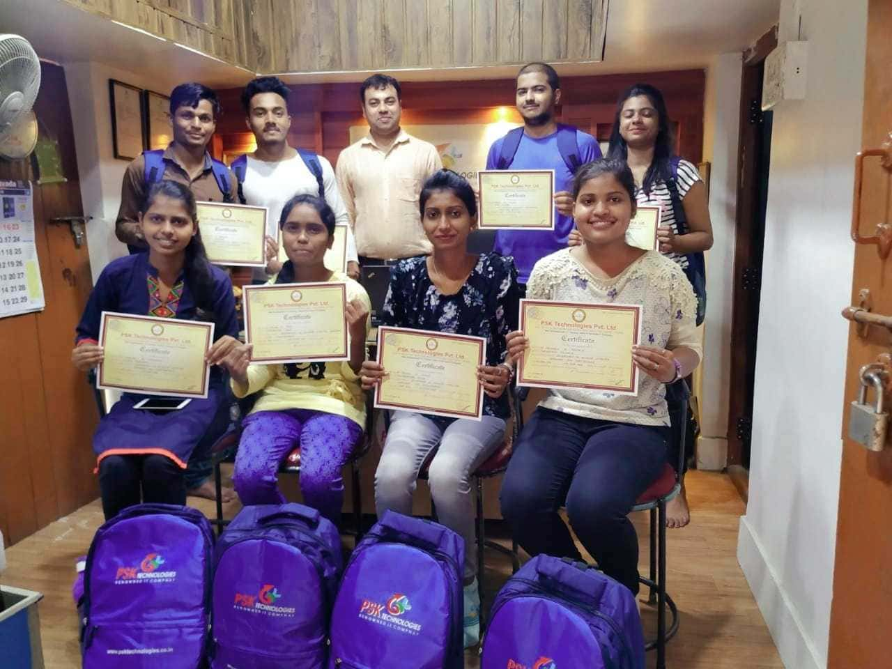 certificate hardware internship in nagpur psk technologies