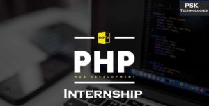 php internship in psk techmologies